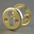 016 Заглушка FE на евроцилиндр (001PZ) матовое золото