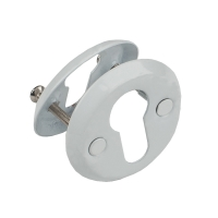 016 Заглушка FE на евроцилиндр (001PZ) белая