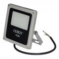 Прожектор светодиодный 10Вт, 230В, 6500К, 1200Лм, IP65, серый