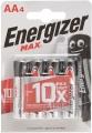 Батарейки алкалиновые LR06 Energizer МАХ (4шт)