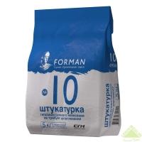 Штукатурная смесь  ФОРМАН 10,  5 кг