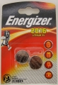 Батарейки литиевые СR2016 Energizer miniatures (2шт)
