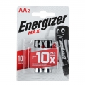 Батарейки алкалиновые LR06 Energizer MAX (2шт)