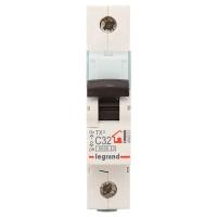 Выключатель автоматический модульный 1п С 32А ТХ3 6кА Leg