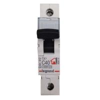 Выключатель автоматический модульный 1п С 40А ТХ 6кА Leg 404032