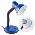 Светильник TLI-201 Е27 Uniel Blue настольный синий 00452
