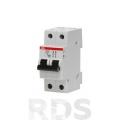 Выключатель автоматический модульный 2п С 10А SH202L 4,5кА АВВ