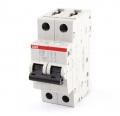Выключатель автоматический модульный 2п С 16А SH202L 4,5кА АВВ