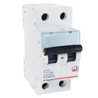 Выключатель автоматический модульный 2п С 25А ТХ3  6кА Leg 404044