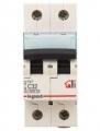 Выключатель автоматический модульный 2п С 32А ТХ 6кА Leg 404045