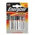 Батарейки алкалиновые LR06 Energizer MAX (6шт)