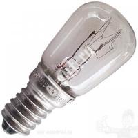 Лампа накаливания для холодильника ПШ 235-245-15Вт Е14