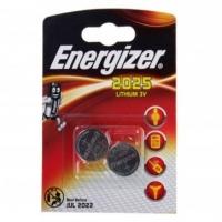 Батарейки литиевые СR2025 Energizer miniatures (2шт)