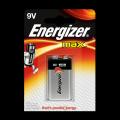 Батарейка алкалиновая 6LR61 9V Energizer MAX (1шт)