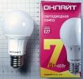 Лампа светодиодная 71 647 OLL A60 7Вт 230В 2,7K E27 Онлайт