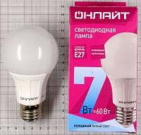 Лампа светодиодная 71 648 OLL A60 7Вт 230В 4K E27 Онлайт