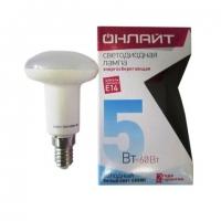 Лампа светодиодная 71 652 OLL R50 5Вт 230В 4K E14 Онлайт