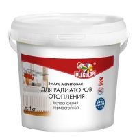 Эмаль акриловая  для радиаторов белый 1 кг OLECOLOR