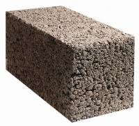 Керамзитобетонный блок перегородочный - 390х190х90