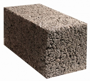 Керамзитобетонный блок 390х190х190