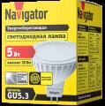 Лампа светодиодная 94 129 NLL MR16 5Вт 230V GU5.3 4000K Navigator
