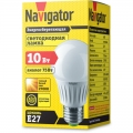 Лампа светодиодная 94 388 NLL A60 10Вт 230V 4000К E27 10Вт груша Navigator