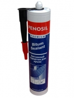 """Герметик """"Penosil Bitum""""  битумный для крыши, черный, 310мл"""