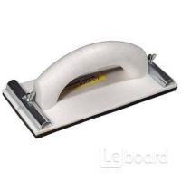 Терка STAYER для шлифования, с металлическим фиксатором80х230мм