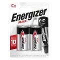 Батарейки алкалиновые LR20 Energizer МАХ (2шт)