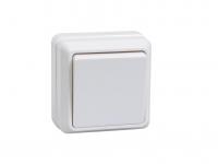 Выключатель 1-кл. ОП ОКТАВА 10А 250В бел. IP20 ВС20-1-0-ОБ ИЭК