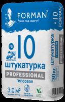 """Штукатурная смесь  ФОРМАН 10  30 кг """"PROFESSIONAL""""  (СКИДКА ОТ ОБЪЕМА)"""