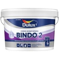Краска в/д BINDO 2 глубокоматовая, Снежно-белый потолок,  2,5л