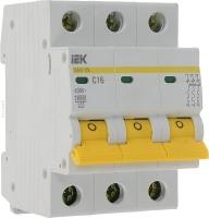 Автоматический выключатель модульный 3п ВА47-29 16А(4.5кА)ИЭК