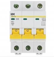 Автоматический выключатель модульный 3п ВА47-29 32А(4.5кА)ИЭК