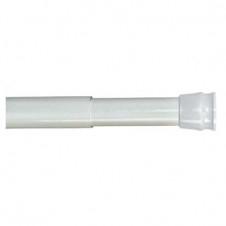 Карниз для ванной комнаты, телескопический 010А200 М14, белый