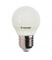 Лампа светодиодная LED GL45 Шар 5Вт 220В Е27 3000К Космос