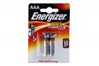 Батарейки алкалиновые LR03 Energizer MAX (2шт)