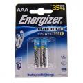 Батарейки алкалиновые LR03 Energizer Maximum (2шт)