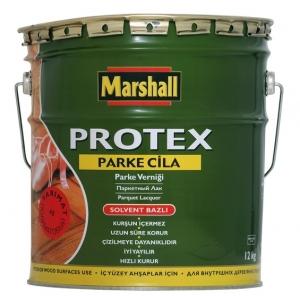 """Лак Маршал """"PROTEX"""" паркетный полуматовый 2,5 л"""
