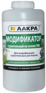 """Клей ПВА """"ЛАКРА""""строительный Модификатор 2,3кг"""