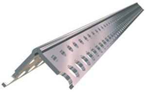 Угловая накладка  алюминиевая 3м
