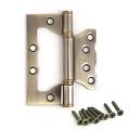 Петля Avers накладная (универсальная) 100-75-2,5 В2-Steel бронза