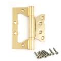 Петля Avers накладная (универсальная) 100-75-2,5 В2-Steel-G золото