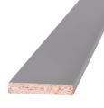 Наличник серый плоский ламинированный 58*10*2200 мм ОЛОВИ