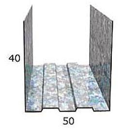 Профиль ПН 50/40 3п.м.