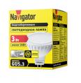 Лампа светодиодная 94 127 LED 3Вт 230V GU5.3 4000К Navigator