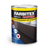 Мастика битумная гидроизоляционная, 17кг FARBITEX