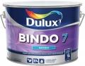 Краска водоэмульсионная BINDO 7 BW матовая для стен и потолков, белая 5л