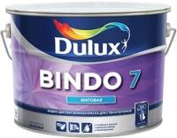 Краска водоэмульсионная BINDO 7 BW матовая для стен и потолков,белая 10л