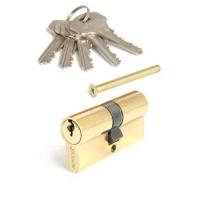 """Цилиндровый механизм """"Apecs"""" SC-60-Z-G золото (5 ключей)"""